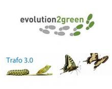 Logo, Trafo 3.0 & evolution2green