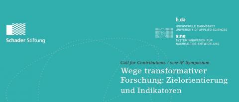 Das Bild zeigt einen Ausschnitt des Calls for Contributions mit dem Logo der Schader Stiftung.