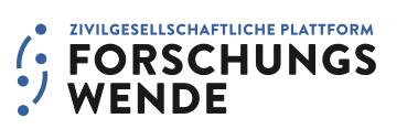 Logo der Zivilgesellschaftlichen Platform Forschungswende