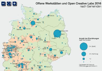 Offene Werkstätten in Deutschland