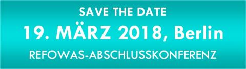 Refowas - Save the date - Banner