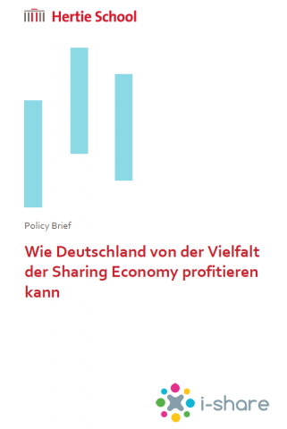 Das Bild zeigt das Titelbild des i-share Policy Briefs