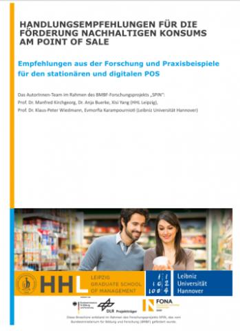 Handlungsempfehlungen für die Förderung nachhaltigen Konsums am Point of Sale